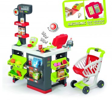 لعبة السوبر ماركت Smoby - Super Market With 42 Accessories