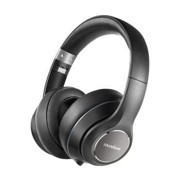 سماعات رأس لاسلكية أصلية Anker Vortex من SoundCore - أسود
