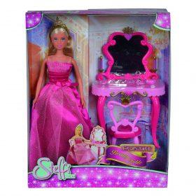 لعبة دمية مع طاولة مكياج SIMBA - SL Fairytale Beauty Table