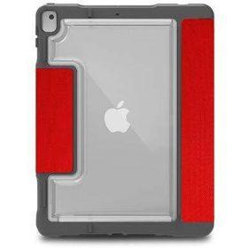 """كفر Dux Plus Duo for Apple iPad 10.2"""" 2019 AP STM - أحمر"""