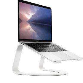 حامل Curve Desktop Stand for MacBook TWELVE SOUTH - أبيض