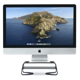 حامل معدني للماك بوك MacBook Twelve South CURVE RISER Monitor Stand - أسود
