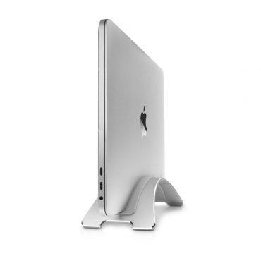 حامل رأسي Twelve South BOOKARC Vertical Macbook Stand - فضي