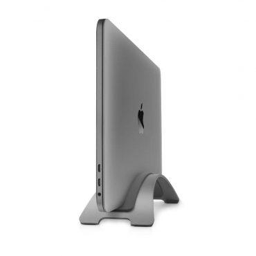 حامل رأسي Twelve South BOOKARC Vertical Macbook Stand - رمادي