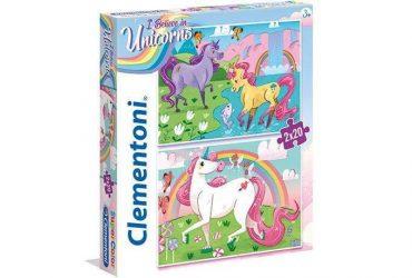 لعبة تطبيقات 20×2 قطعة CLEMENTONI - Unicorn