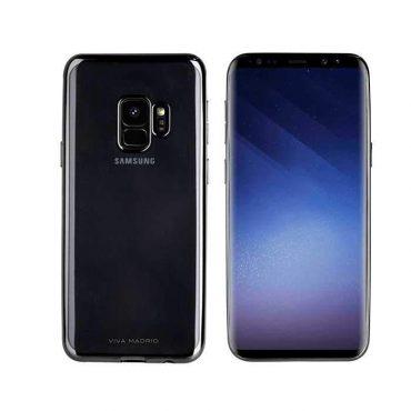 كفر Samsung Galaxy S9 Viva Madrid - أسود
