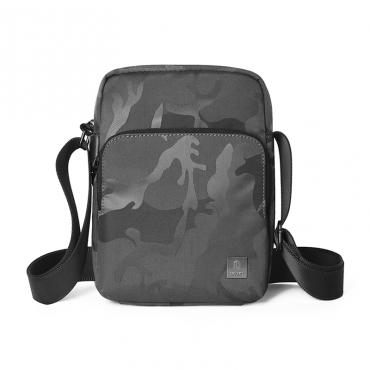 حقيبة الكتف المحمولة  WIWU CROSSBODY BAG CAMOUFLAGE PATTERN (280*200*60MM) - BLACK