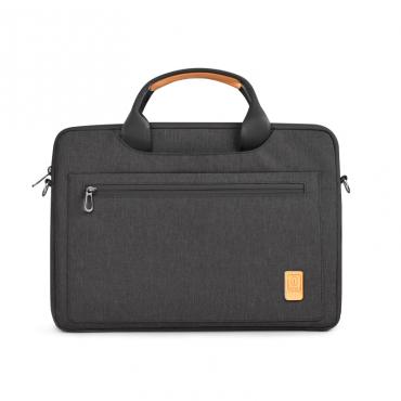 """حقيبة الكتف الرائدة WIWU FOR 15.4"""" LAPTOP/ULTRABOOK - BLACK"""