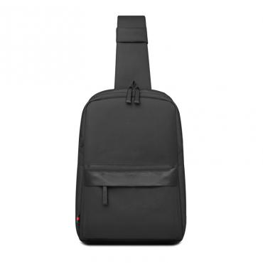 حقيبة ظهر صغيرة WIWU VIGOR CROSSBODY BAG WATER RESISTANT (30*25*7CM) - PURE BLACK