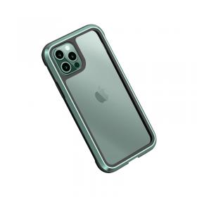 كفر أيفون WIWU DEFENSE ARMOR PHONE CASE MILITARY LEVEL SHOCKPROOF FOR IPHONE 11 PRO - GREEN