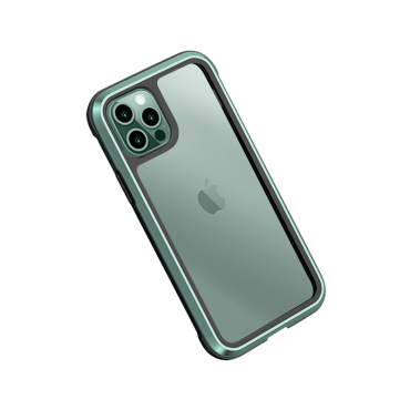 كفر أيفون WIWU DEFENSE ARMOR PHONE CASE MILITARY LEVEL SHOCKPROOF FOR IPHONE 11 PRO MAX - GREEN