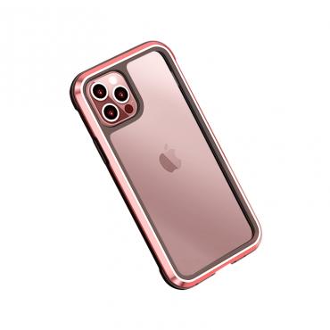"""كفر أيفون WIWU DEFENSE ARMOR PHONE CASE MILITARY LEVEL SHOCKPROOF FOR IPHONE 12 (6.1"""") - RED"""