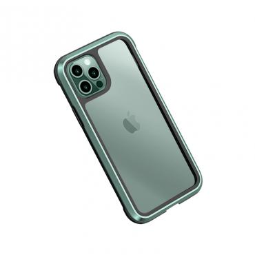 "كفر أيفون WIWU DEFENSE ARMOR PHONE CASE MILITARY LEVEL SHOCKPROOF FOR IPHONE 12 (6.7"") - GREEN"