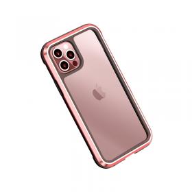 """كفر أيفون 12 المقاوم للصدمات WIWU DEFENSE PHONE CASE MILITARY LEVEL SHOCKPROOF FOR IPHONE 12 (6.7"""") - RED"""