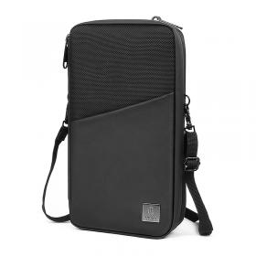 الحقيبة العصرية WIWU TRAVEL MATE PASSPORT POUCH (24*13*5CM) - BLACK