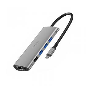 الهاب WIWU ALPHA 11 IN 1 USB-C HUB - GRAY