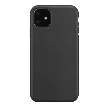 كفر Bio Case for iPhone 11 WOODCESSORIES - أسود