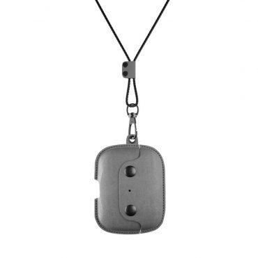 كفر AirPod Pro Leather Necklace WOODCESSORIES - رمادي