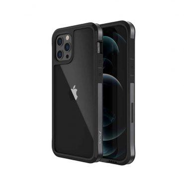 "كفر X-Doria Raptic Edge Case for iPhone 12 / 12 Pro (6.1"") - Black"