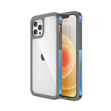 "كفر X-Doria Raptic Edge Case for iPhone 12 / 12 Pro (6.1"") - Iridescent"