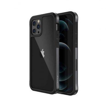 "كفر  X-Doria Raptic Edge Case for iPhone 12 Pro Max (6.7"") - Black"