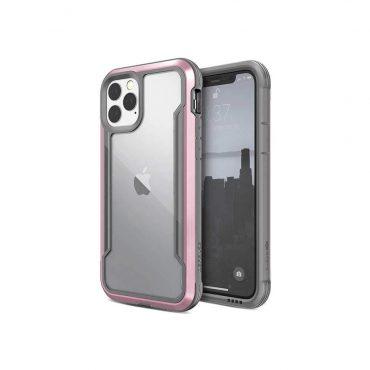 كفر مقاوم للكسر  X-Doria Defense Shield iPhone 11 Pro - Rose Gold