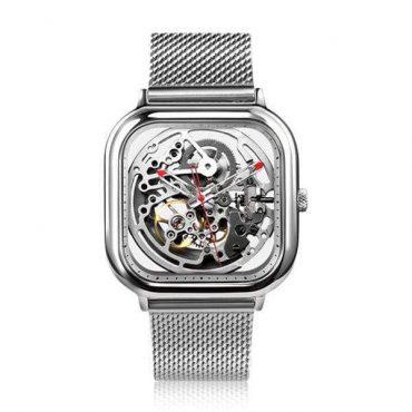 ساعة MI CIGA Design الأوتوماتيكية للرجال (فضية)- من شاومي