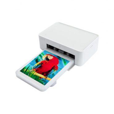 طابعة لاسلكية محمولة لطبع صور 6 انش بالألوان من الهاتف - شاومي