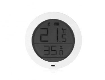 جهاز قياس درجة الحرارة والرطوبة من شاومي – أبيض