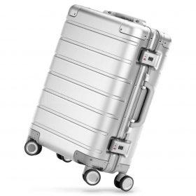 حقيبة سفر من سبائك الألومنيوم 20 بوصة من شاومي - فضي