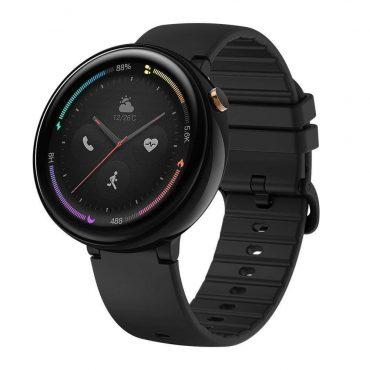 ساعة Amazfit Nexo الرياضية الذكية سوداء