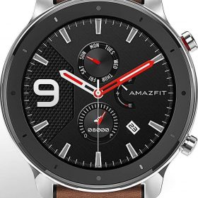 الساعة الذكية amazfit gtr 47mm