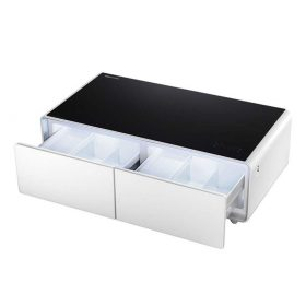 ثلاجة و طاولة متعددة المهام Minibar YAMADA - أبيض