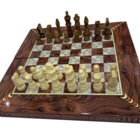 3-In-1 Chess - Checkers   Backgammon Board 19 INCHES MF-0251