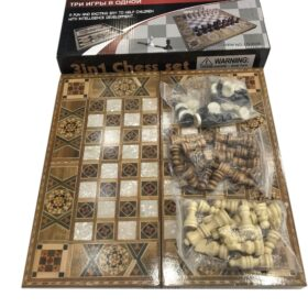 3in 1 Chess Set LD-9035