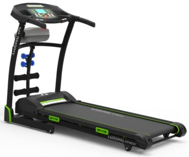 4 Way Home Use Motorized Treadmill - Motor 3.0HP - User Weight Max-120KG