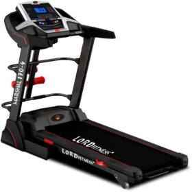 4 Way Walking Treadmill Machine having Control with Shock Resistance System