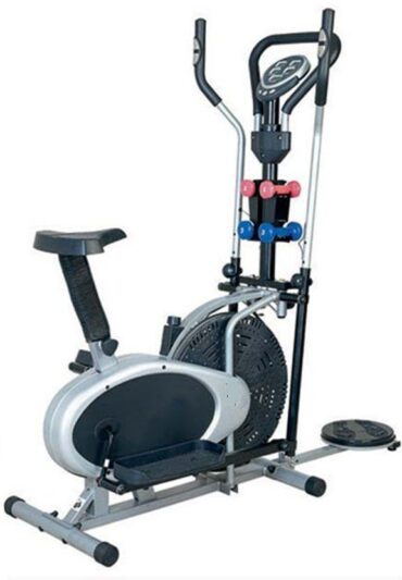 4 in1 Multifunction Elliptical Cross Trainer Orbitrac for Home Use Exercise Bike-Bx-32Gt