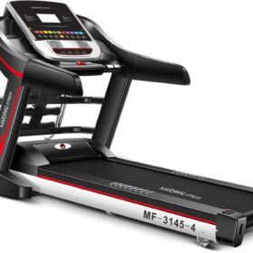 """4 way DC Motorized Treadmill with 7"""" LCD Screen"""