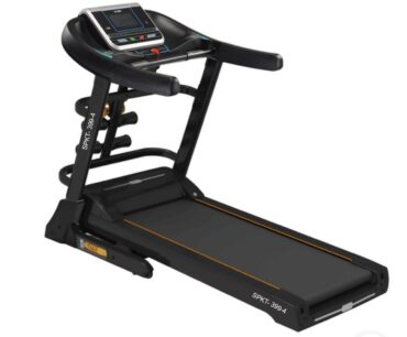4 way Home Use 5.0 HP Motor Treadmill With Massager