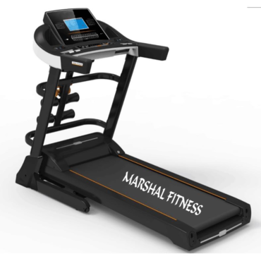 4Way Home Use Low Noise Running Machine with two motors Treadmill