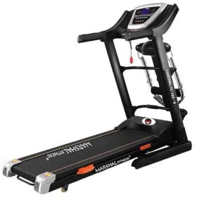 4Way Treadmill with shock absorption System and Massager