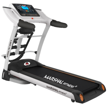 4way Running Machine Foldable Auto Incline Treadmill with 5HP Motor and LCD Display