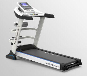 5.0HP Motorized Treadmill - MAX User Weight 120-KGs - MP3 & USB