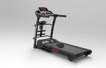 5.0HP Treadmill with Massager - Sit-ups - Tummy Twister and Dumbbells - no TV