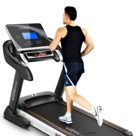 6.0 HP DC Motorized Treadmill with 7? LCD Display Screen - no Massager