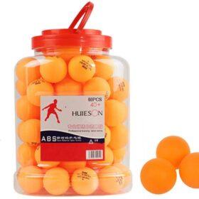 60 Pack Table Tennis Balls Set Durable Professional Grade Ping Pong Training Balls