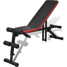 Adjustable Multi Function Weight Lifting Utility Bench - (Flat