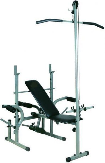 Bench Press Exercise Weight Bench with Pull Up Bar-BXZ-400DA