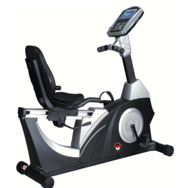 Commercial Recumbent Bike Self Generation Ergometer Trainer Bike